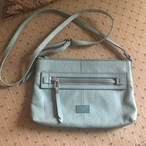 Mint Condition - Mint Color FOSSIL Crossbody